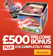 £500 welcome bonus plus £10 free